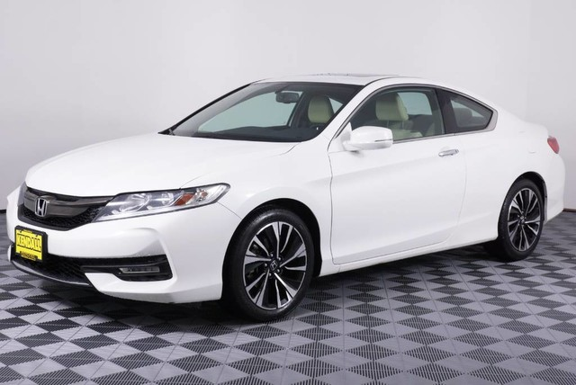 Honda Accord Ex-L >> Certified Pre Owned 2016 Honda Accord Coupe Ex L