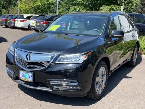 Certified Pre-Owned 2016 Acura MDX w/Advance/Entertainment